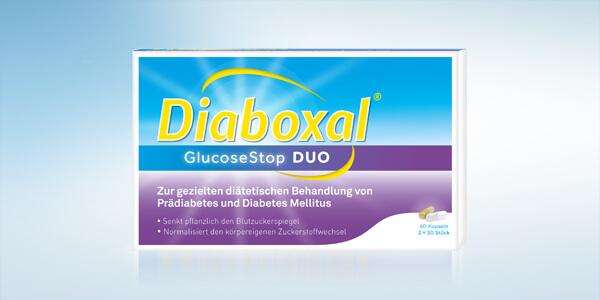 DIABOXAL GLUCOSE STOPDUO KPS 60 Stück - Westend Apotheke